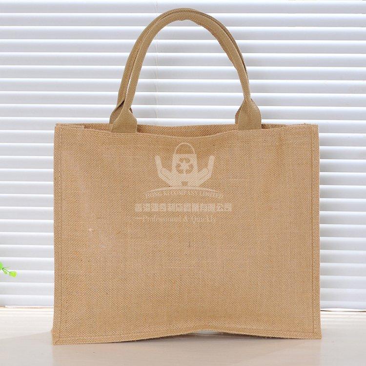JUH141 黃麻手提購物袋 時尚