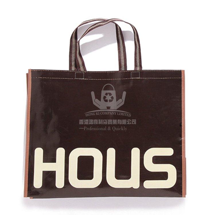 <b>LAH313 時尚PP編織布覆膜環保袋 覆膜購物袋</b>