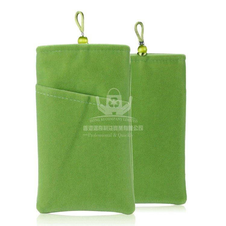 VED125 絨布手機袋 禮品束口