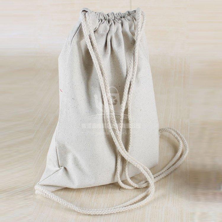 COD186 棉布抽繩束口袋 抽繩