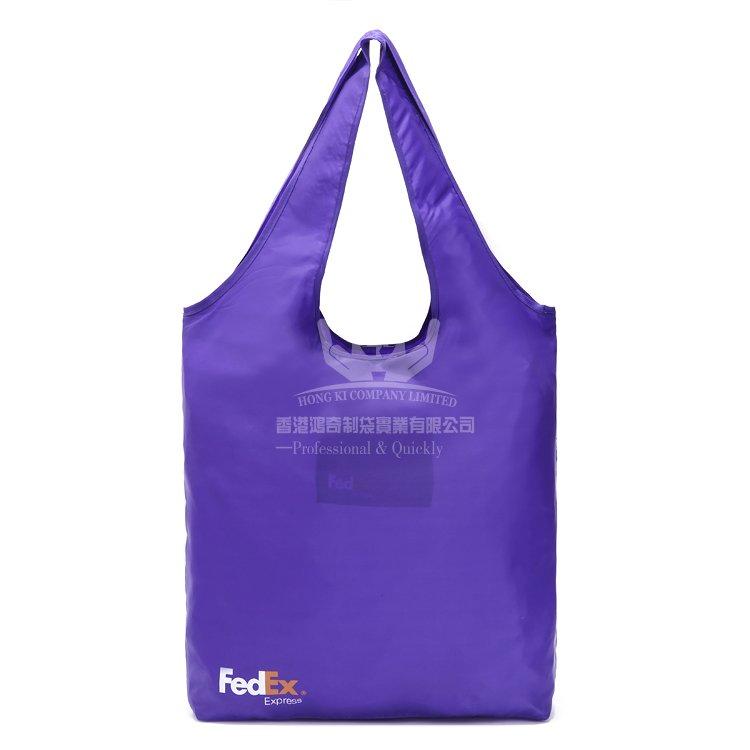 <b>POF335 滌綸折疊袋 環保購物袋 廣告促銷袋</b>