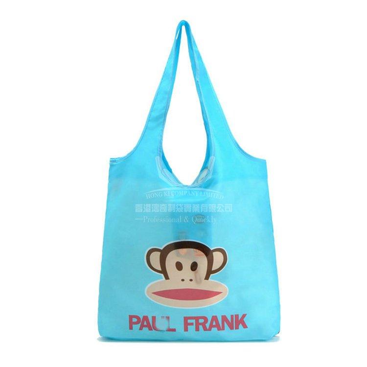 <b>POF325 滌綸購物袋 折疊環保袋 平價促銷袋</b>