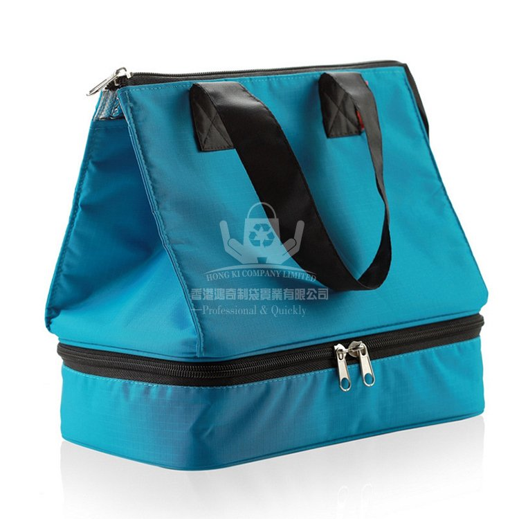 <b>POI358 牛津布雙層保溫袋 手提購物袋 推廣促銷袋</b>