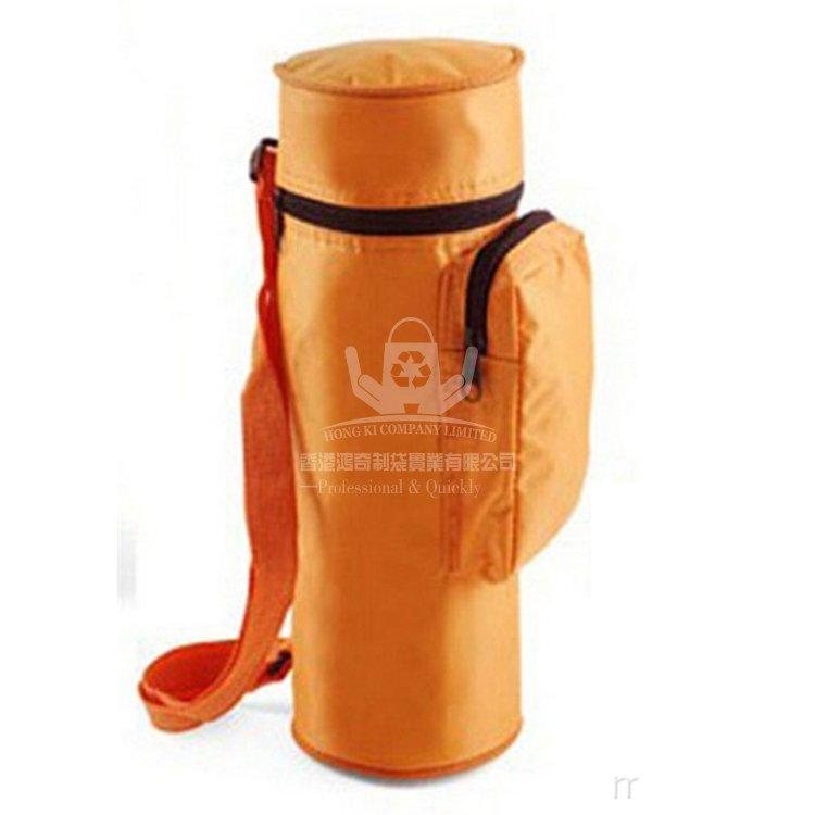 <b>POI337 滌綸保溫瓶套 斜背保溫袋 保溫包</b>