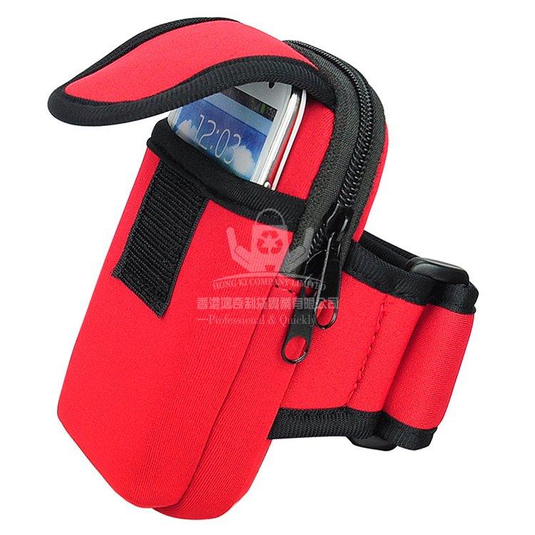 HKG001 跑步腕包 潛水料手機