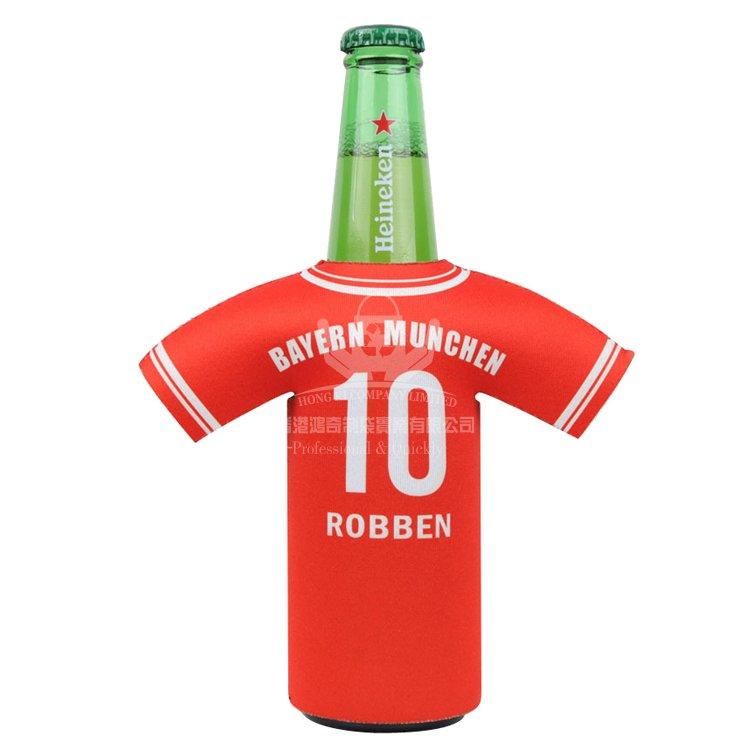 NEB100 T恤啤酒瓶套 潛水料