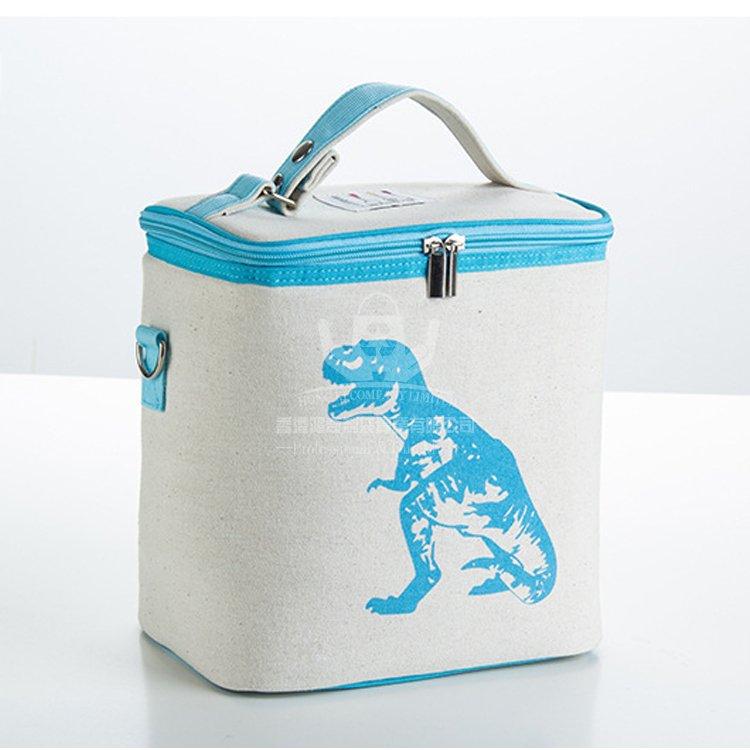 <b>COI368 棉布保溫袋 飯盒袋 便當包 午餐包</b>