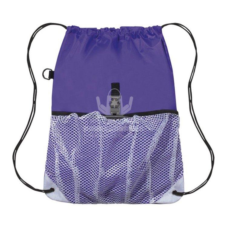 <b>POD208 滌綸抽繩背包 抽繩環保袋 運動收納包</b>