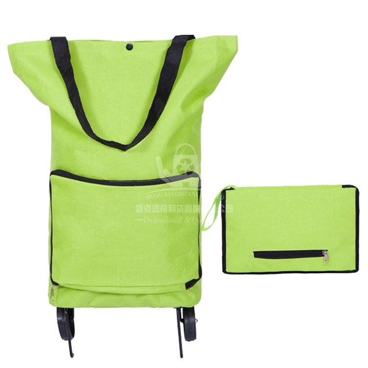 <b>POA261 可折疊便攜式超市購物車 帶車輪包 可定制</b>