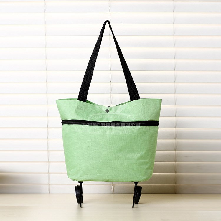 <b>POA263 創意可折疊購物車 折疊購物袋 便攜式手提</b>