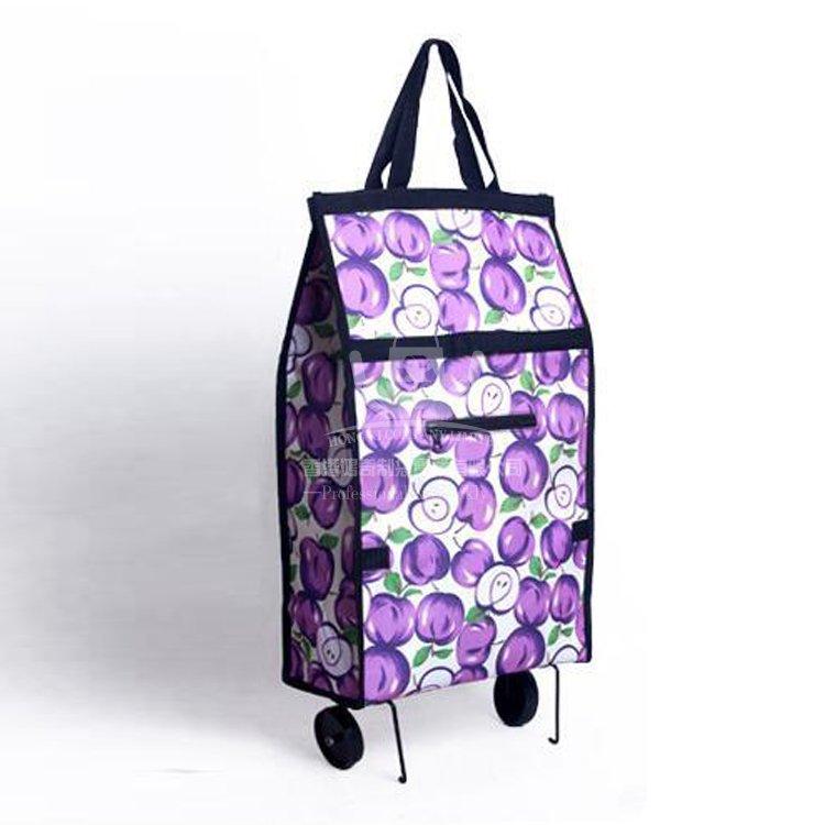 <b>POA264 便攜購物折疊車 拖輪包 手拉車 購物袋 可定</b>