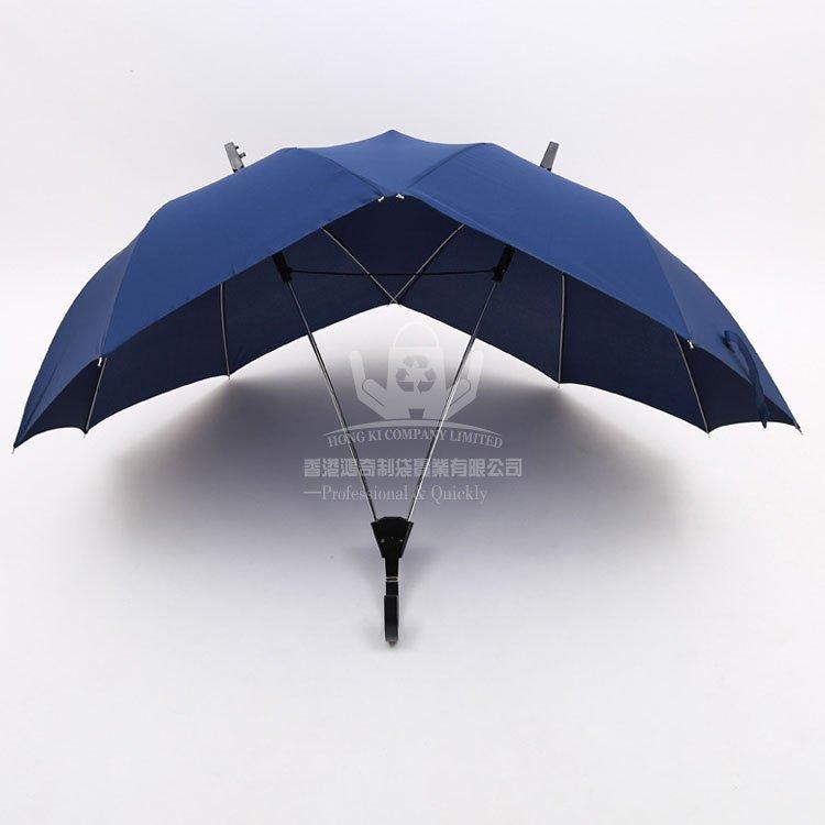 <b>POU273 雙人情侶傘 長柄創意廣告傘 直桿雨傘 廠家</b>