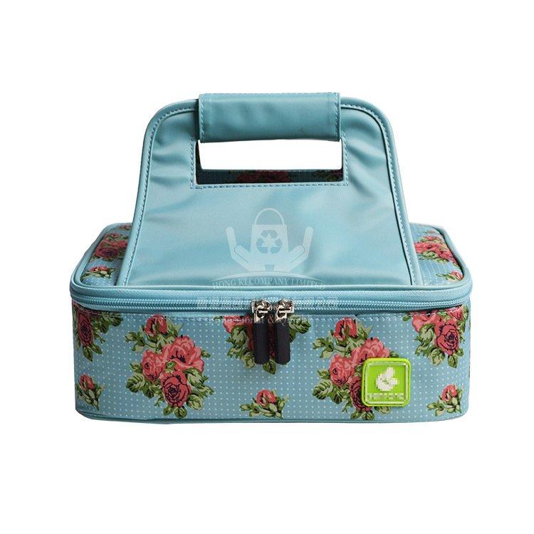 <b>POI372 高檔彩色印刷牛津布保溫袋 戶外野餐冰袋</b>
