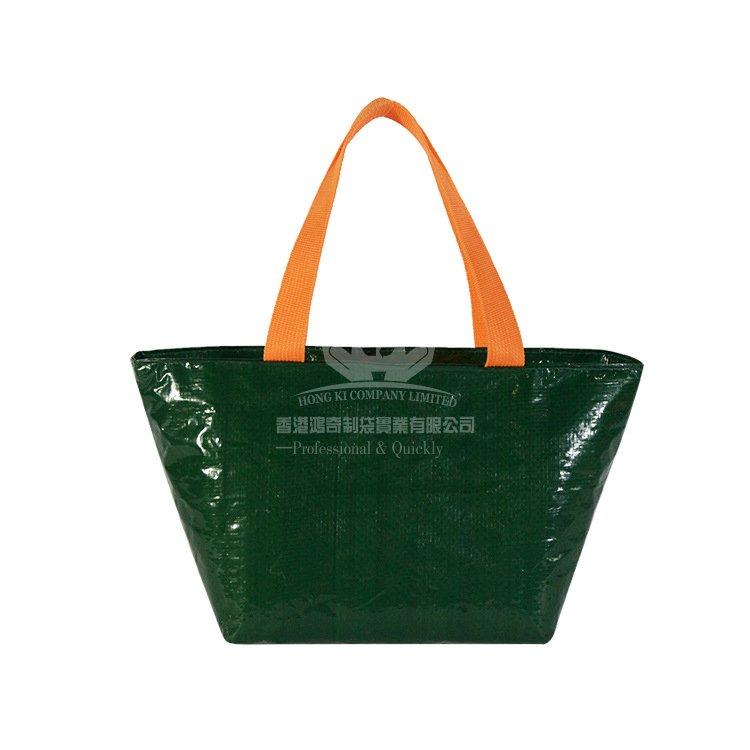 <b>LAI383 時尚新款PP編織布防水保溫袋 午餐保溫包</b>