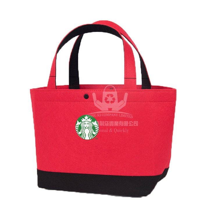 <b>NOH316 毛氈布手提購物袋 廣告促銷袋</b>