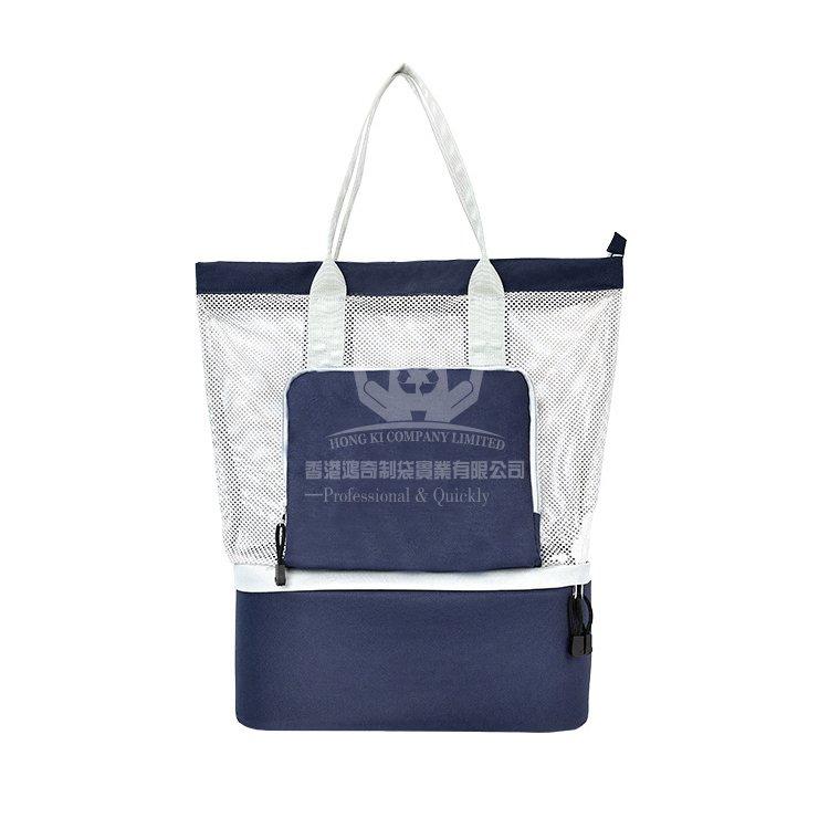<b>LAI396 多功能雙層網格保溫袋 旅行收納袋</b>